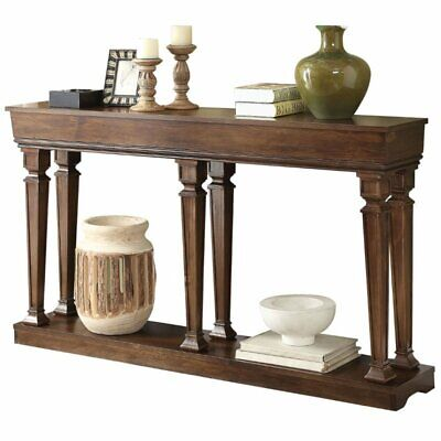 """Bowery Hill 60"""" Console Table in Oak for sale  Sterling"""