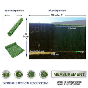 Chainlink Fence Artificial Grass Privacy Panels