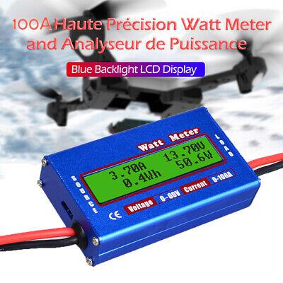 Digital Dc Combo Meter Lcd Watt Power Volt Amp Rc Battery Charging Analyze
