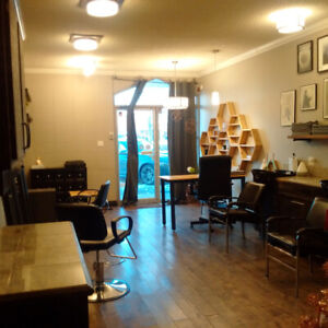 Furnished Hair Salon For Lease (Spruce Grove)