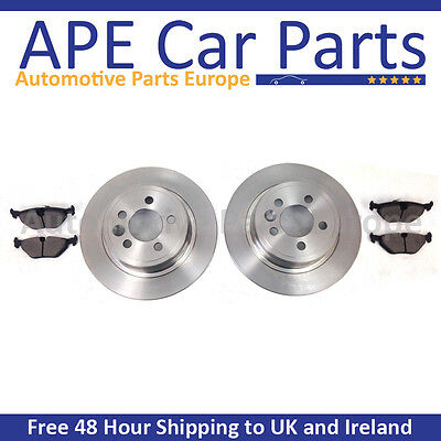 Ford Mondeo MK3 All Models 2004 2007 Rear Brake Discs  Pads