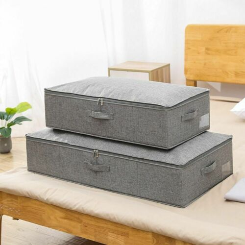 Under Bed Storage Containers Blankets Cloth Shoes Organizer