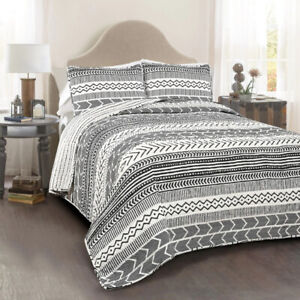 Brand New King Size Quilt set, 100% Cotton
