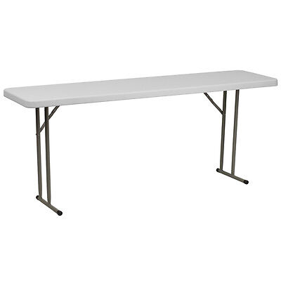 18x 72 Plastic Folding Table - Seminar Table - Training Table