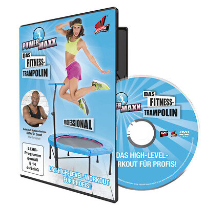 POWER MAXX Fitness Trampolin Training DVD Professional Trainer Detlef D! Soost