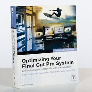 Lot de livres pour Final Cut Pro