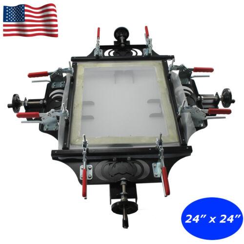 """Screen Printing Stretcher 24""""x 24"""" Silk Screen Stretching Aluminum Screen Frame"""