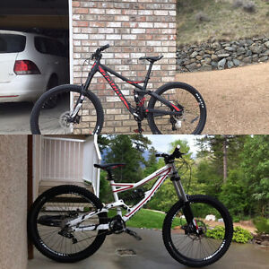 Stolen specialized status and devinci troy