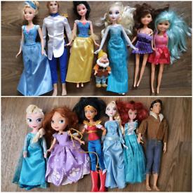 Disney princess dolls Elsa Sofia snow white Eric cinderella Sofia sin