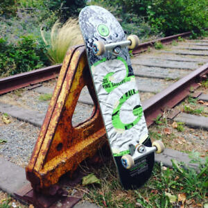 Custom constructed high quality skateboard