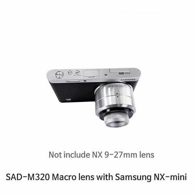 Macro Lens For Samsung NX-mini with 9-27mm lens