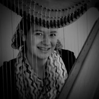 Background harp music for your social event