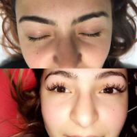 Cheap amazing eyelash extensions! House calls offered!
