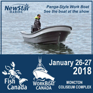See the Offshore Panga-Style Work Boat -FREE Tickets - PEI