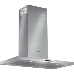 "Bosch 500 Series HCB56651UC 36"" Chimney Hood, Accepts Both, Halo"