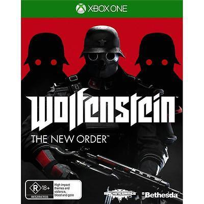 Wolfenstein The New Order XBox one PAL