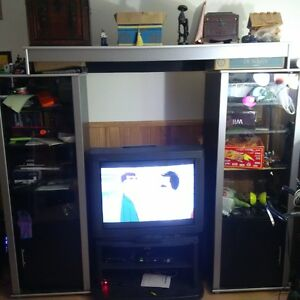 twin tower tv unit