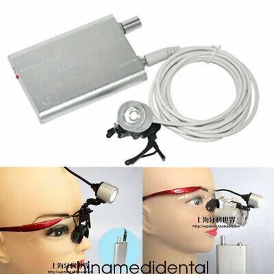 Dental Portable Led Surgical Head Light Lamp Medical Headlight Clip-on Type A