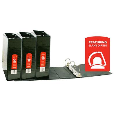Bazic Products 3 Ea D Ring Binder W Pockts 3in