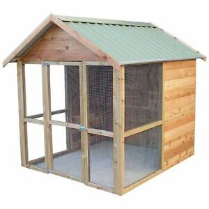 Top Quality 12 Chicken Shed Bird Aviary - Australian Made DIY Kit Girraween Parramatta Area Preview
