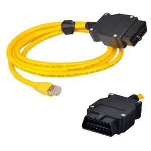 BMW ENET (Ethernet to OBD) Interface Cable for  F-Series