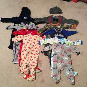 Boys 6-9 month sleepers (sold as a set)