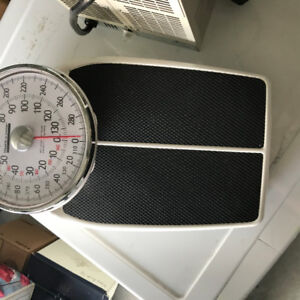 Mechanical Weight scale