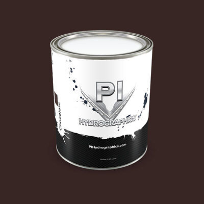 Pi Hydrographic Chocolate Water Based Paint Quart Hydro Dipping Paint