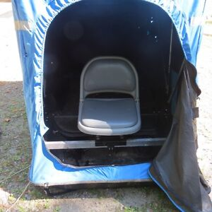 Ice fishing sled buy or sell sporting goods exercise for Dave genz fish trap