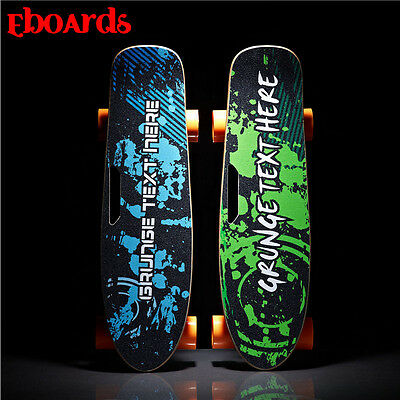 4 wheels one Hub motor electric skateboard Remote Control Motorized Skate Board