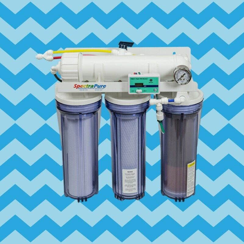 SpectraPure CSPDI 2:1 Manual Flush 90-GPD RO/DI System - CSPDI-90-MF