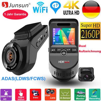 Junsun HD 4K 2160P Autokamera Dashcam WIFI GPS 170° Weitwinkel Video Recorder