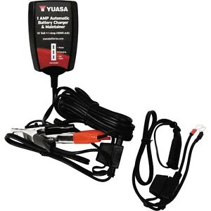 MOTORCYCLE / ATV BATTERY CHARGER AND MAINTAINER ONLY $39.99