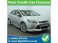 POOR CREDIT? NEED A CAR? Ford Focus 1.6TDCi Zetec S 63-2013 (Diesel)