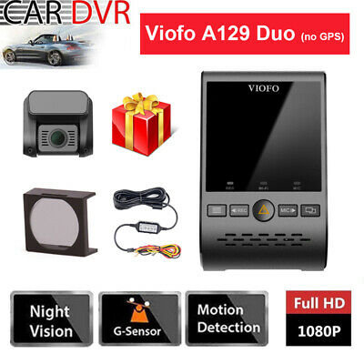 HD 1080P PIP Viofo A129 Duo Dual Channel Wifi Car Dash Cam +CPL +Hard Wire