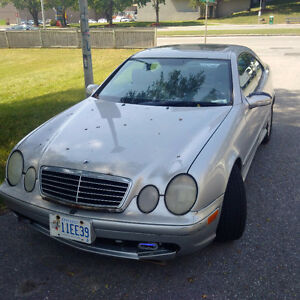 2000 Mercedes-Benz CLK 430 V8 Coupe