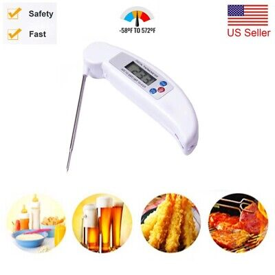 Universal Thermometer Instant Read Digital Kitchen Grill Cooking BBQ Beer Wine ❤