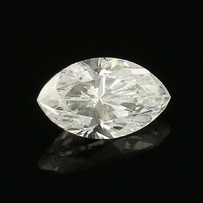 .53ct Loose Diamond - Marquise Cut GIA Graded Solitaire VS2 D
