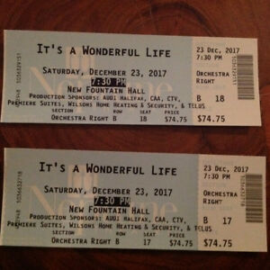 Dec 23 Neptune Tickets for Its A Wonderful Life