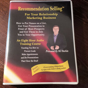 RECOMMENDATION SELLING™ Relationship Marketing (NEW) MJ Durkin Gatineau Ottawa / Gatineau Area image 1