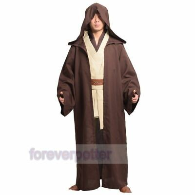 Obi-Wan Cloak Suits Kenobi Jedi Knight Star Wars Halloween Prop Dress-Up Costume Jedi Knight Cloak