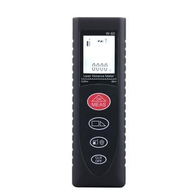 60m Digital Lcd Laser Distance Meter Range Finder Measure Diastimeter