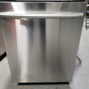 Dishwasher Samsung Model DW80F600UTS/AC 01 Stainless Steel