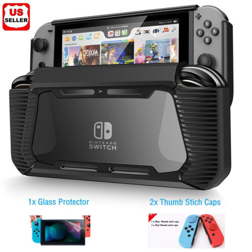 Купить LINKPAL - Hybrid Case for Nintendo Switch Rugged Rubberized Snap on Hard Cover TPU