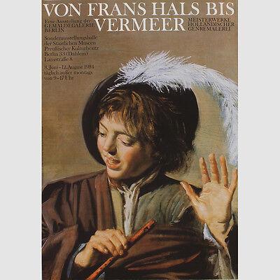 Von Frans Hals bis Vermeer. Gemäldegalerie Berlin. Sonderausstellung 1984 ()