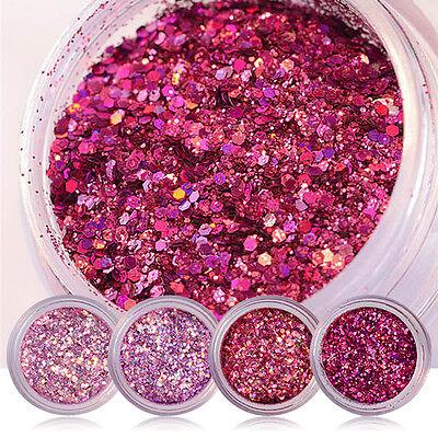 der Shiny Sequin Red Pink Purple Colorful  Accessory (Purple Glitter)