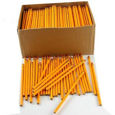 Wholesale Bulk Lot of 50 yellow no.2 pencils great for school, home or office (Pencils Bulk)