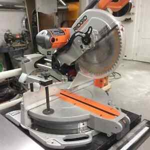 Ridgid compound mitre saw 12""