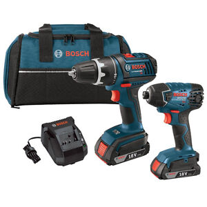 Bosch NEW Impact driver and Drill Combo