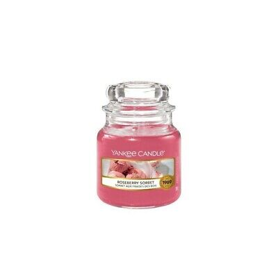 New Yankee Candle Roseberry Sorbet medium jar